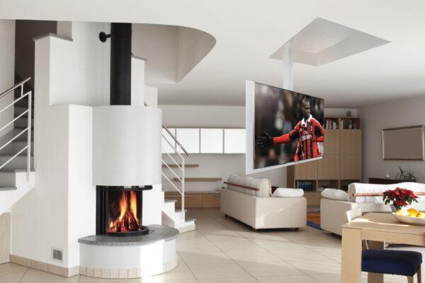 Maior-suport-TV-tavan-living-smart-home