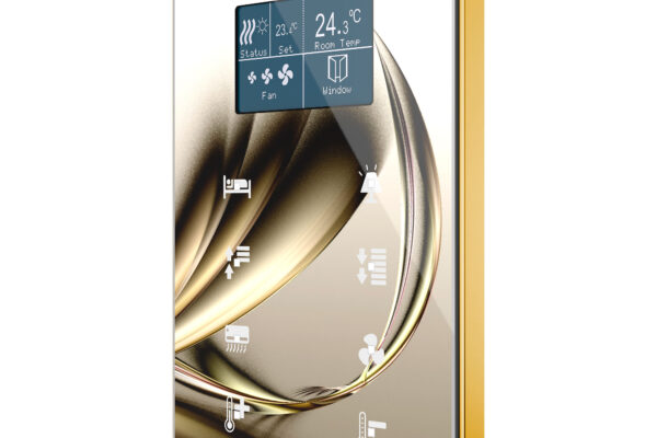 Room-controller-TMD-Display-Sand-Gold