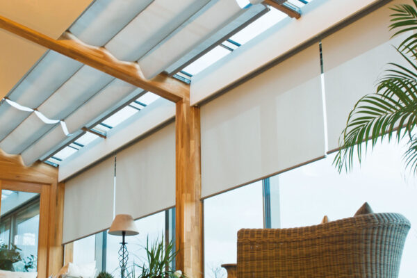 Smart curtains smart roller blinds