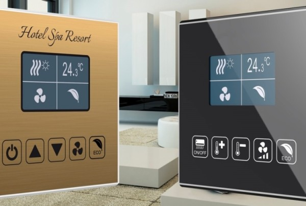 Room controller Square TMD-Display from Zennio