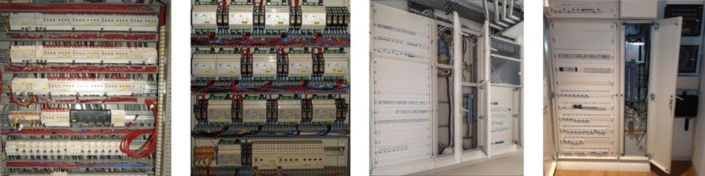 KNX electric panel actuator