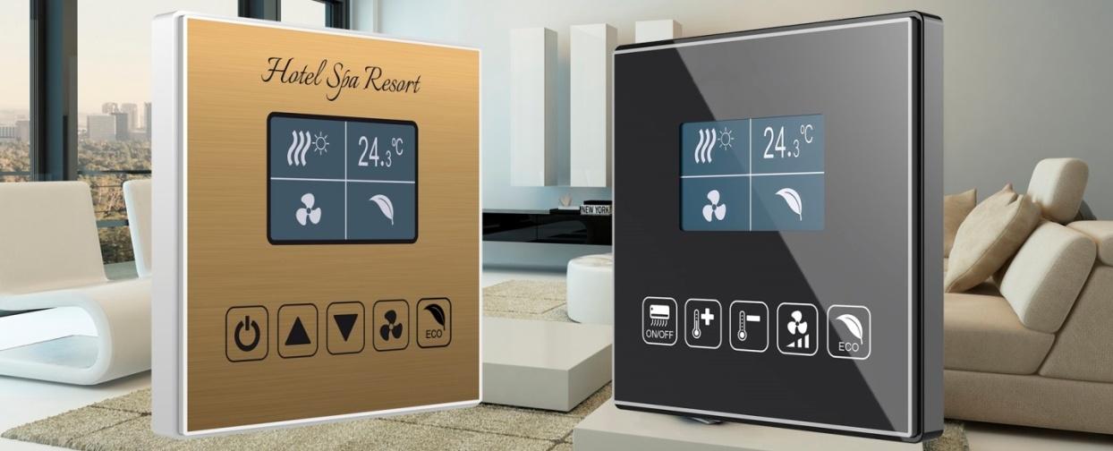 Room controller Square TMD-Display de la Zennio
