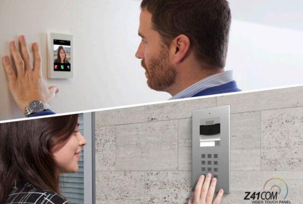 Touch-panel-Zennio-Z41-COM-video-interfon