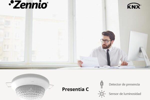 Detector de miscare Presentia C de la Zennio