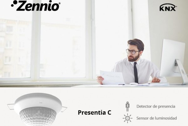 Motion detector Presentia C from Zennio