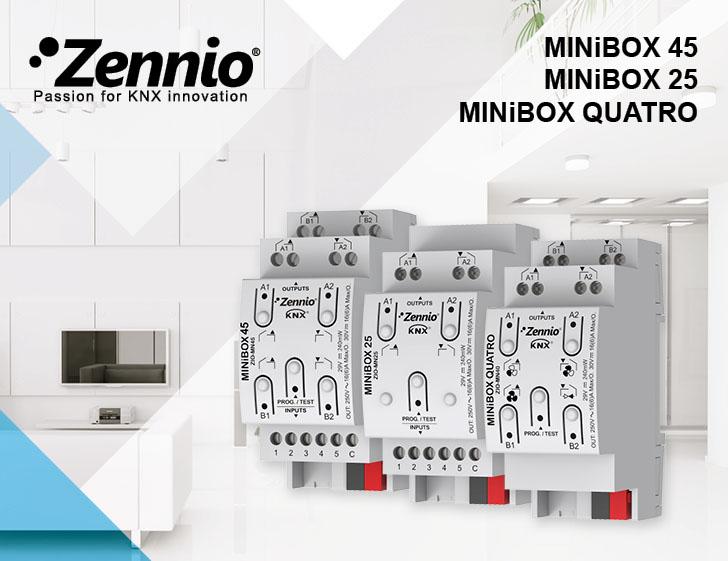 Actuatoare Zennio seria Minibox