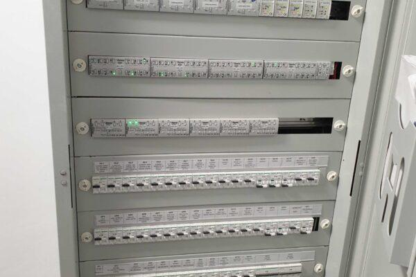 Actuators-fuses-electric-panel-Lake-Villa