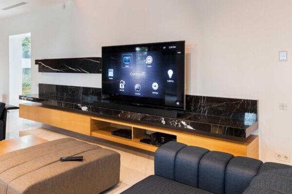 Smart-home-zona-TV-Control4-Vila-MB