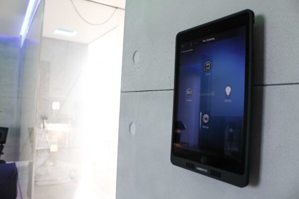 Touch-panel-Control4-Smart-Home-Penthouse-Z