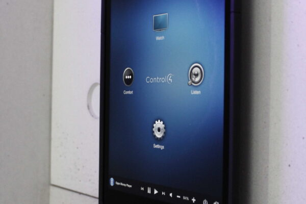 Touch-screen-Control4-Penthouse-Z