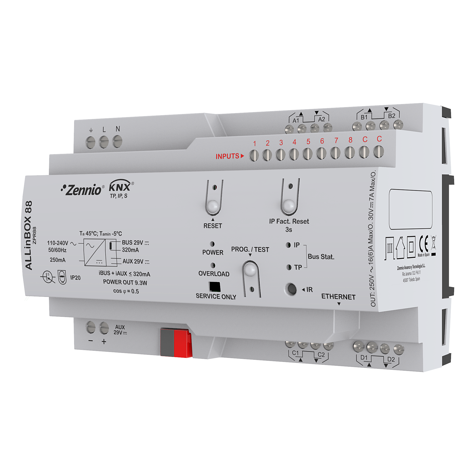Smart Home actuator Zennio ALLinBox