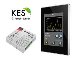 Casa pasiva facilitata prin economizor de energie KES Zenio si panou tactil touch screen