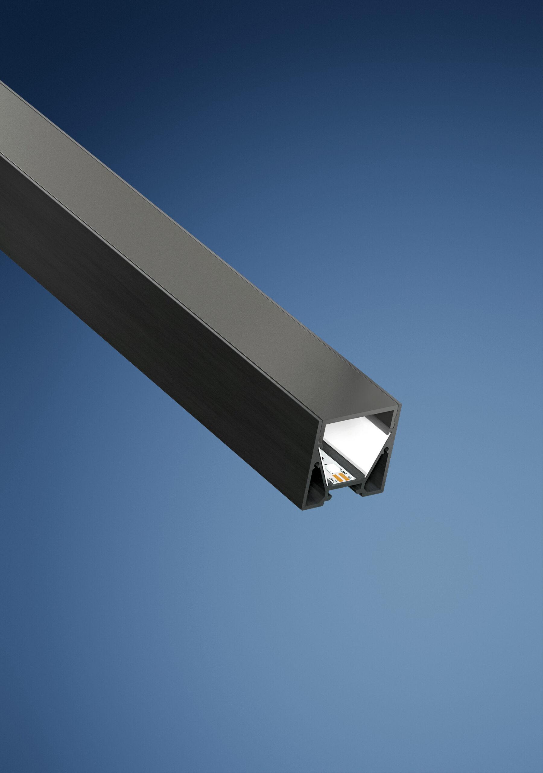 LED profile Barthelme CATania Blackline